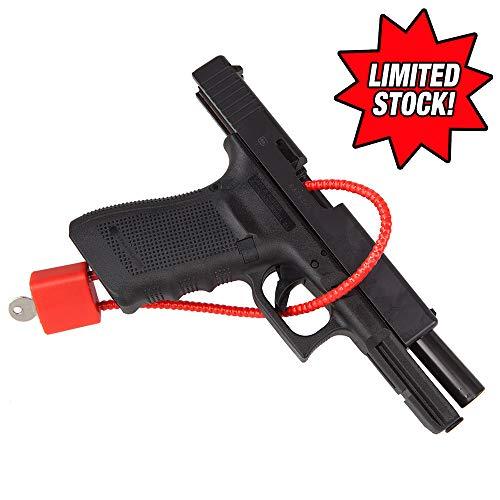 (Universal Gun Cable Lock - Keyed )