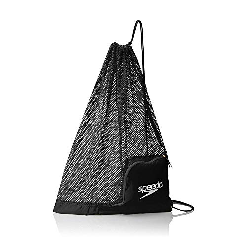 Speedo Ventilator Mesh Equipment Bag, Black