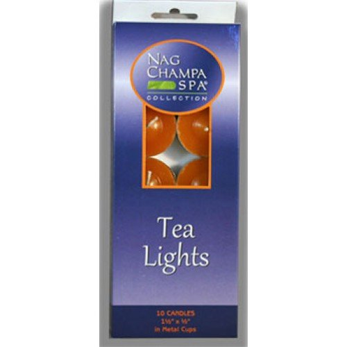 Nag Champa Tea Light Candles- Gift Box of 10