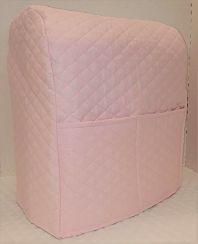 Penny's Needful Things Quilted Cover Compatible with Kitchenaid Stand Mixer (Pink, 4.5,5,6qt Lift Bowl) (Wash Pink Bowl)