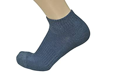Soxtown Women's Athletic Soft Cotton Quarter Crew Socks with Antibacterial and Deodorization for All Season – Free Size, 6 Pack