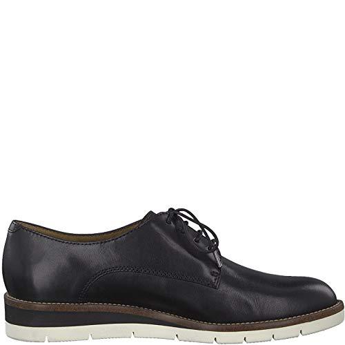 Stringate it 1 22 scarpe Blk Donna Tamaris sportivo Casuale scarpe Strada scarpe 23202 Sneaker 1 scarpe plain Lacci elegante Lea touch sneaker Da Con scarpe Zdd01q