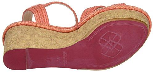 CUPLE 101728, Sandalias Mujer Coral (Melon)