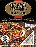 Wollff's Kasha Medium Granulation Buckwheat Gluten Free 13 Oz. Pk Of 3.