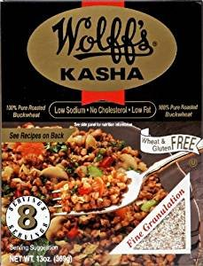 Wollff's Kasha Medium Granulation Buckwheat Gluten Free 13 Oz. Pk Of 3. by Wollff's