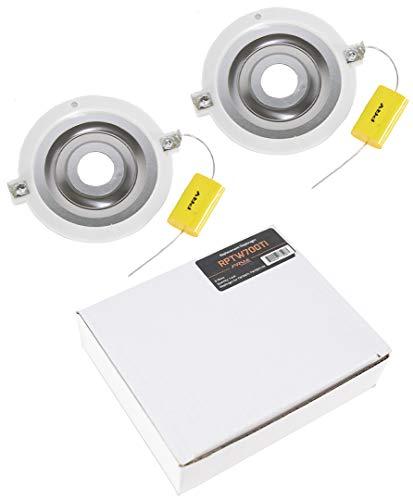 (2 x Replacement Diaphragm PRV Audio PRV-RPTW700TI for TW600Ti or TW700Ti)