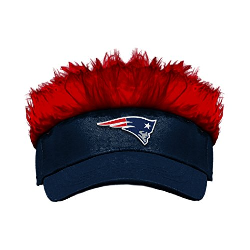The Northwest Company Officially Licensed NFL New England Patriots Flair Hair Visor