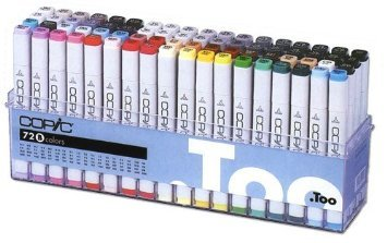 Copic Original Markers 72pc Set, Set B