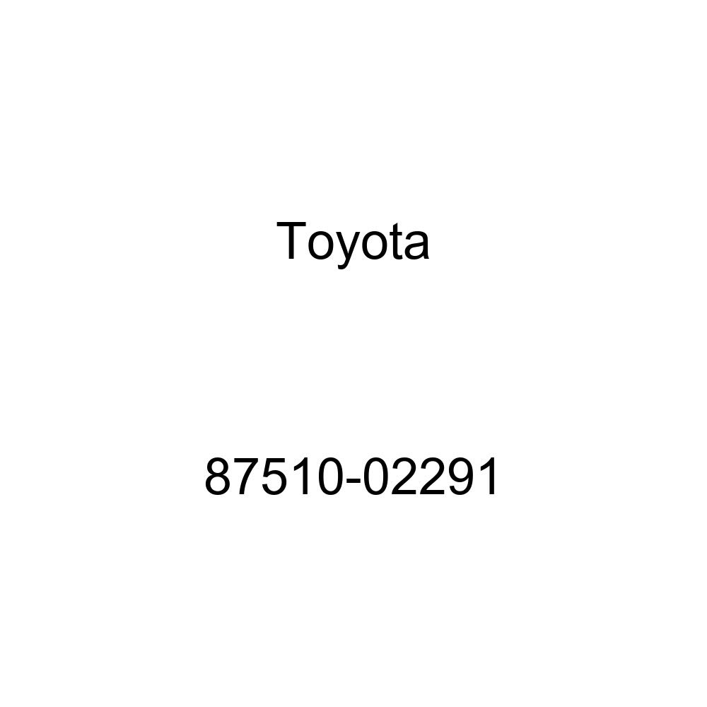 TOYOTA Genuine 87510-02291 Seat Cushion Heater Assembly
