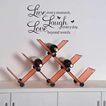 PVC Live Love Laugh Letters Wall Sticker Decal Poster Removable