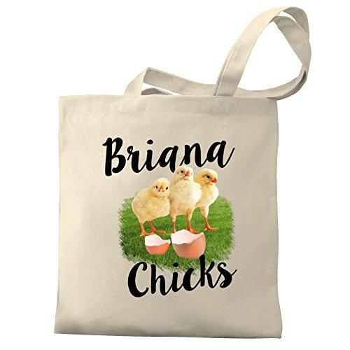 Canvas Tote Bag (Briana Tote)