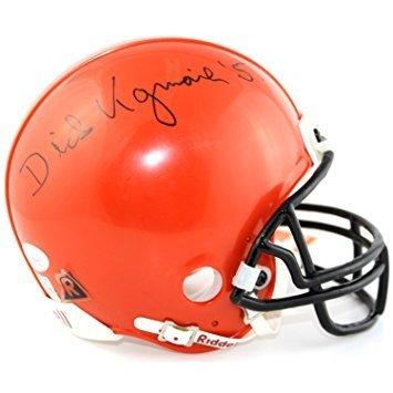 Dick Kazmaier Signed Princeton Tigers Mini Helmet - 51 Inscription - JSA (Detroit Tigers Mlb Hand Signed)