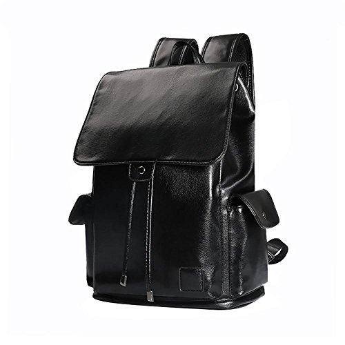 Mochila del hombro de moda de gran capacidad de los hombres de la corteza del ordenador de viaje Mochila