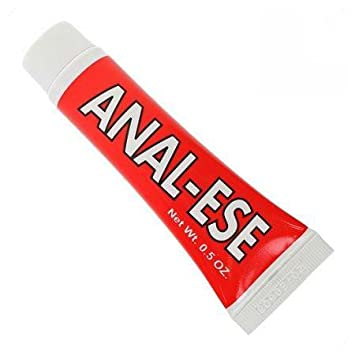 Anal ease lubrication