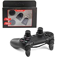 PS4 Enhanced Thumb Stick Grip Caps Analog Extenders L2 R2 Trigger Extended Button For Playstation 4