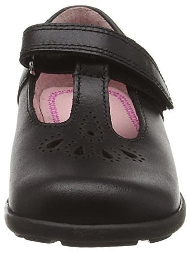 Start Rite Daisy May, Merceditas para Niñas Negro (Negro)
