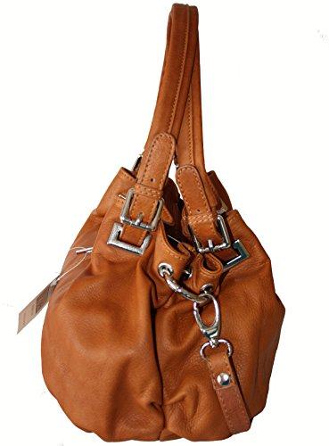 9441ccac8fc89 ... Sa-Lucca echt Leder Handtasche Damentasche 2508 Henkeltasche