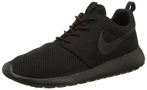 NIKE Men's Roshe One Black/Black Running Shoe 10.5 Men US