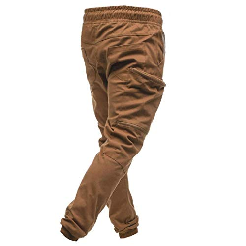 Da Coulisse Brown Con Uomo Borsa Targogo Completo Felpa Pantaloni Sportivi Fpqwx51O