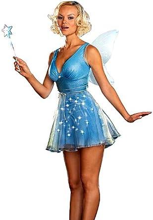 DreamGirl - Disfraz de Hada Azul para Mujer - Multi - M: Amazon.es ...