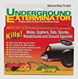 MANNING PRODUCTS Underground Exterminator - Kills Moles, Gophers, Rats, Groundhogs and More