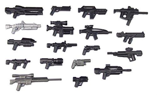 BrickArms Sci-Fi Zukunft Pistol Set Custom Weapons for LEGO