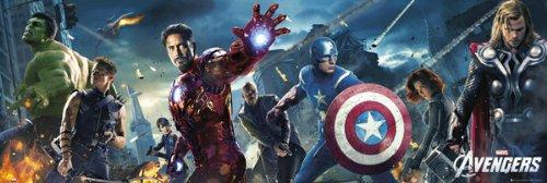 The Avengers - Marvel Door Movie Poster Regular Style