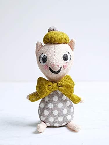 Littlephant 1453 Mini Linen Doll Petite The Pig