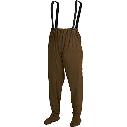 Suspenders Wader Hodgman (Hodgman GMWDE CSM/L Gamewade PVC Packable Chest Waders, Medium/Large, Brown)