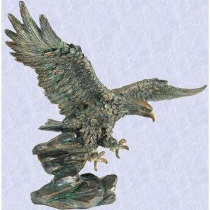 Jefferson The American Bald Eagle Statue Garden Home Sculpture New (The  Digital Angel)