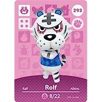 Rolf - Nintendo Animal Crossing Happy Home Designer Amiibo Card - 293
