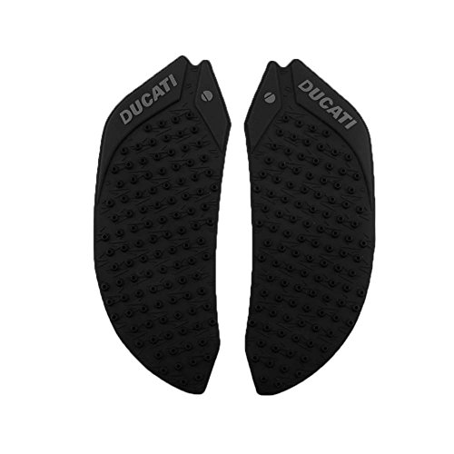 Parts Ducati Motorcycle - Motorcycle Black Gas Tank Pad Traction Side Fuel Knee Decal Protector For Ducati 899 1199 1299 Panigale 2013-2016 2014 2015