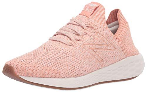 New Balance Women's Cruz Sock Fit V2 Fresh Foam Running Shoe, Phantom/Faded Copper/Pink Mist, 9.5 B US