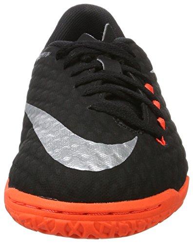 NIKE Youth Hypervenomx Phelon III Indoor Shoes [Black] (4.5Y) by NIKE (Image #4)