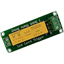 Dolity DC 1 CH 5A Solid State Relay Module Board for Arduino Uno DIY Project Various Voltage - 12V