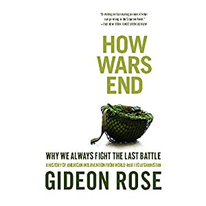 How Wars End Audiobook