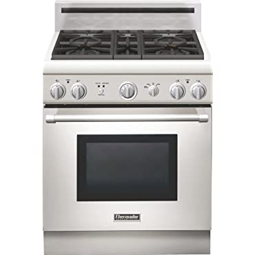 Thermador Pro Harmony : PRG304GH 30 Pro-Style Gas Range Stainless Steel