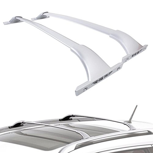 ALAVENTE Roof Rack Cross Bars Set For Nissan Rogue 2014 2015 2016 2017 (Pair, Silver)