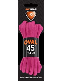Sof Sole BCA Athletic Oval and Flat Laces, Pink, 45 and 54 inch