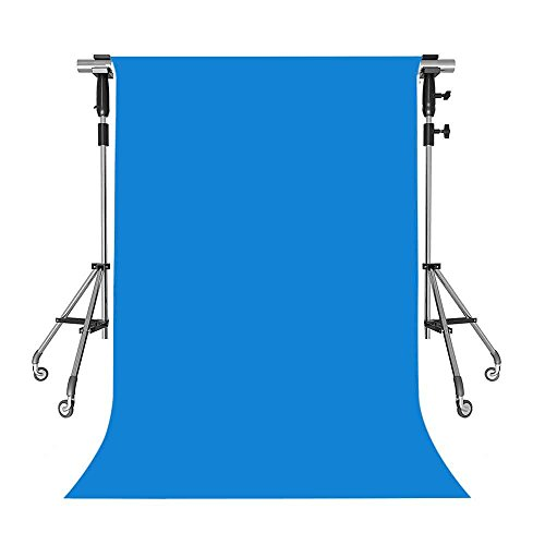 MEETS 5x7ft Non-woven Fabric Backdrop Fashion Blue Photography Background Studio Props Photo Booth YouTube Backdrop QLWMT001