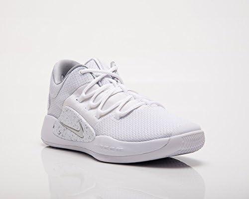 Nike Men's Hyperdunk X Low Fitness Shoes, Multicolour White