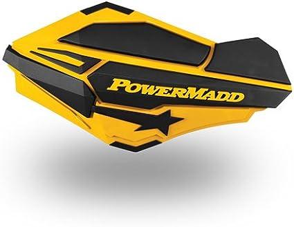 Powermadd Star Series Handguards Guards Mount Kit Ski Do Yellow Can Am ATV