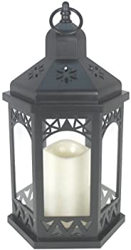 Mainstays LED Hexagon Lantern