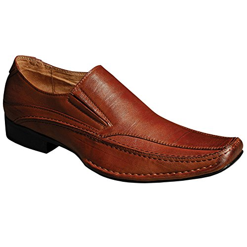 Blancho Hombres Fashion Collection Slip-on Loafer Marrón
