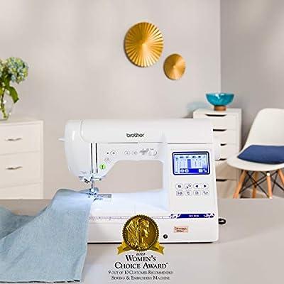 Brother SE1900 máquina de coser y bordar computarizada: Amazon.es ...