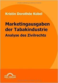 Marketingausgaben der Tabakindustrie: Analyse des Zivilrechts