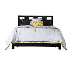 Amazon.com: Modus Furniture Riva Platform Bed, Espresso, California King: Kitchen & Dining