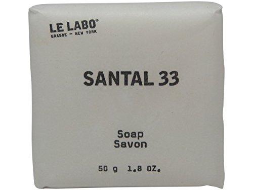 Le Labo Santal 33 Soap lot of 5 each 1.76oz bars. Total of 8.8oz