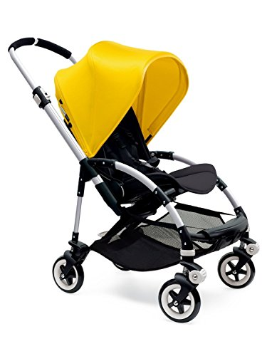 Bugaboo Bee3 Stroller - Bright Yellow/Black/Aluminum(Stroller not included)