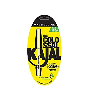 Maybelline New York Colossal Kajal, Black, 0.35g And Maybelline New York Color Sensational Creamy Matte Lipstick, 691…